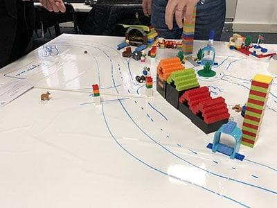 Management de projet agile : lego4scrum
